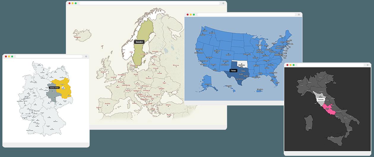 CSSMap - default map styles