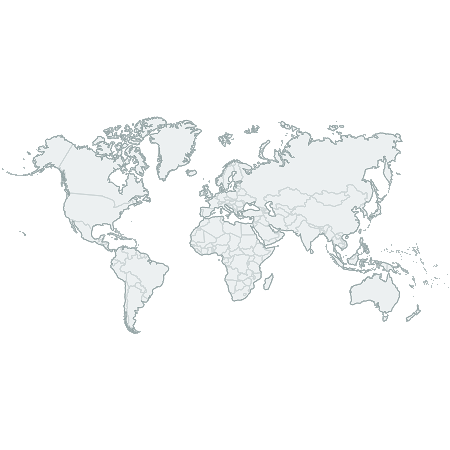 CSSMap - World continents