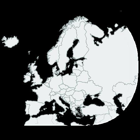 CSSMap - Europe
