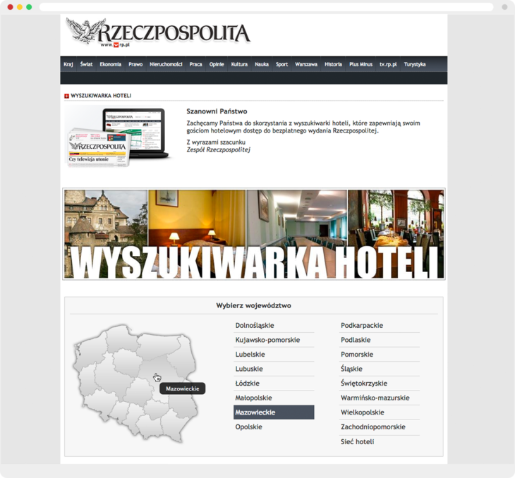 CSSMap example at Rzeczpospolita website