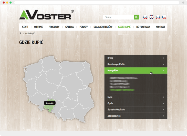 CSSMap example at voster.pl website