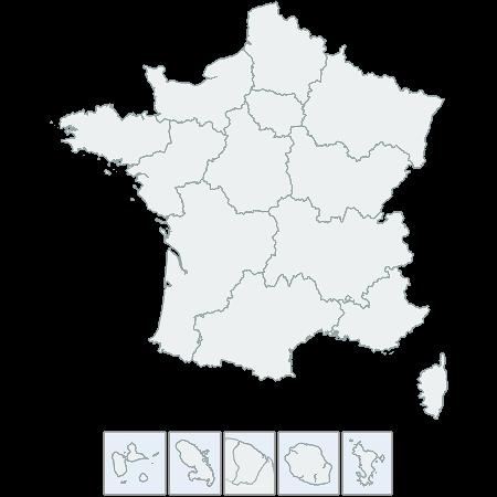 CSSMap - France