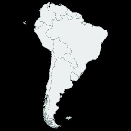 CSSMap - South America