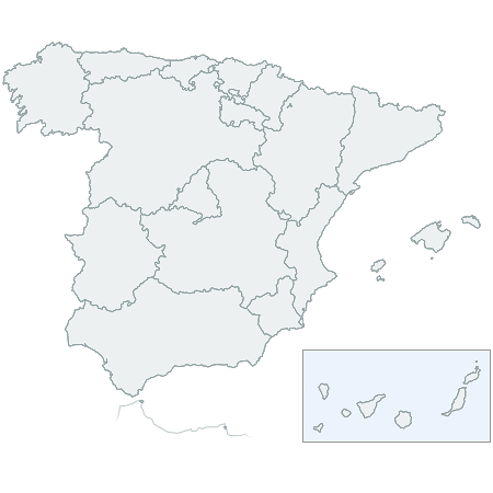 CSSMap - Autonomies of Spain